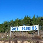 Entrada de Royal Parking